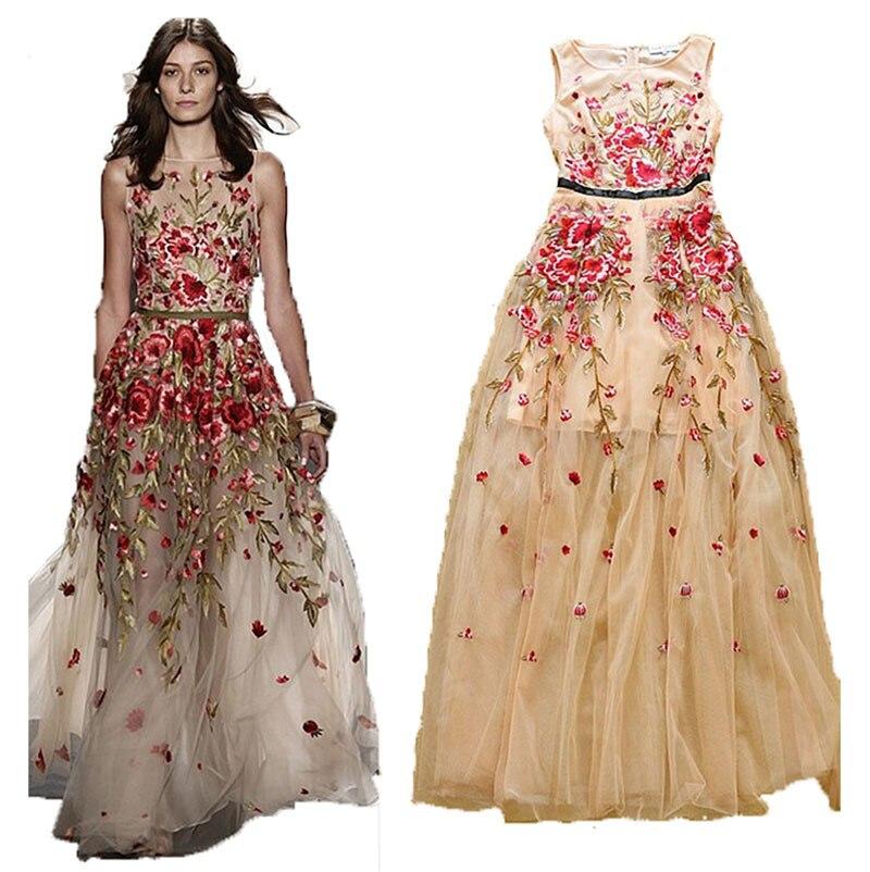 Aliexpress.com : Buy 2015 vintage sleevelessWomen maxi dresses ...
