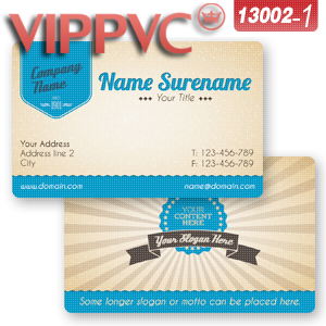 a13002-1 plastic business card  Template for business card Design and White PVC Cards Printing