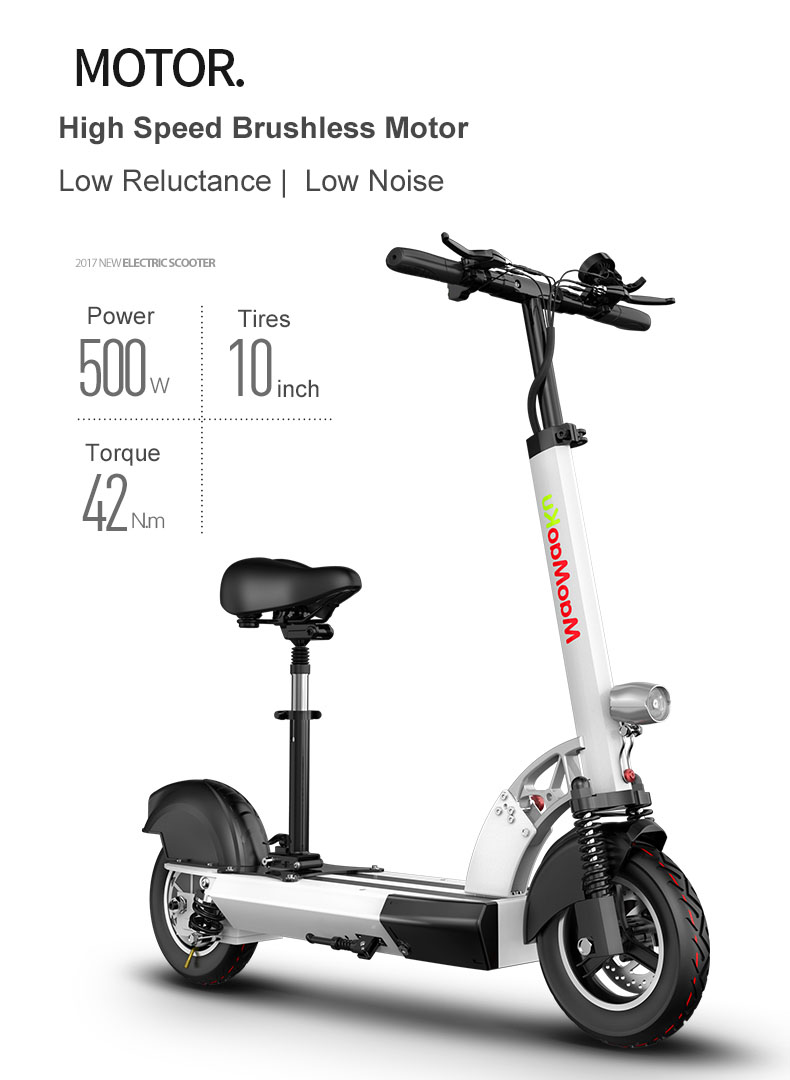 HTB1CC5BaCsQ2uJjSZFFq6xYUFXac - 10inch electric scooter 48V lithium battery electric bicycle 500w high speed 100km range sctooer  max speed 45-50km/h