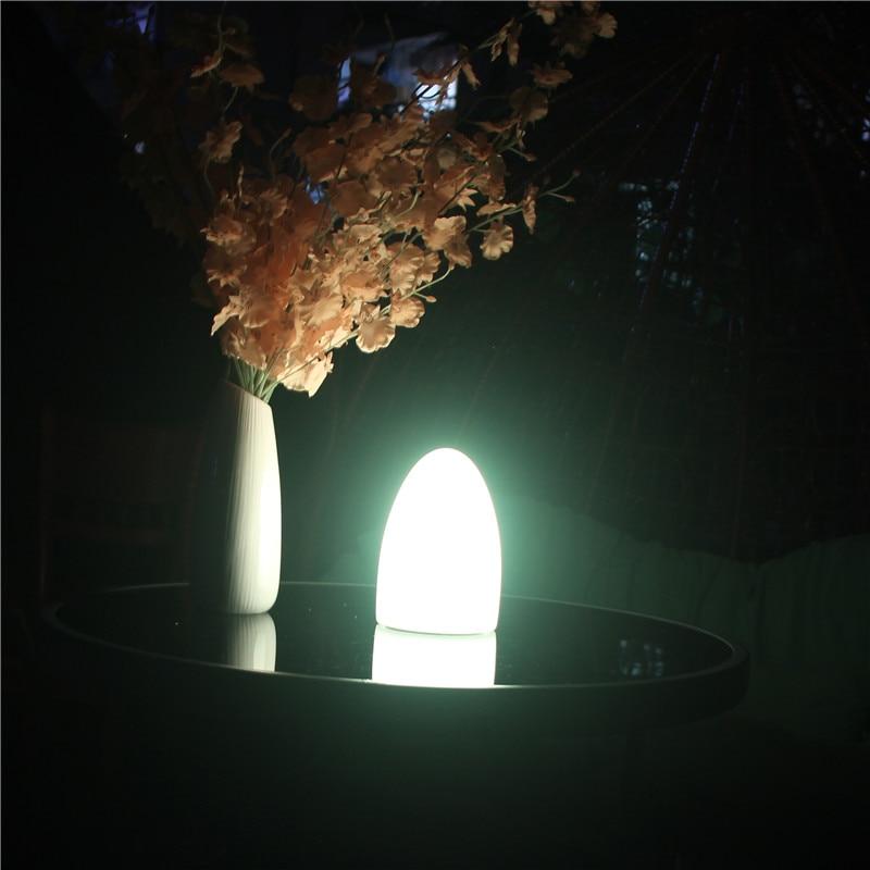 Skybesstech D10 * H15cm RGBW LED Ei Licht Glühende Tischlampe - Nachtlichter - Foto 4