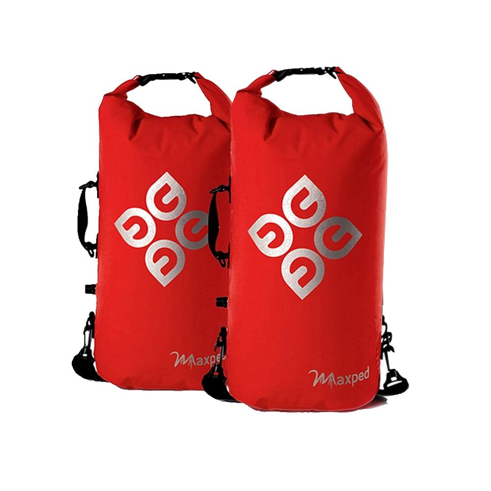 Maxped Drifting Diving Bag Waterproof Dry Bag Backpack Canoe Kayak Rafting Floating Storage Bags Folding Travel Kit
