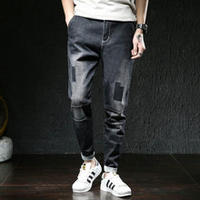 2019 New Mens Jeans Hip Hop Streetwear Haren Pants Male Sweatpants Joggers Men Plus Size High Quality Fashion casual Full Length(China)
