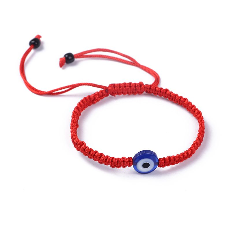 Blue Eye Kabbalah Red String Bracelets Adjustable Fashion Jewelry Unisex in Charm Bracelets from Jewelry Accessories