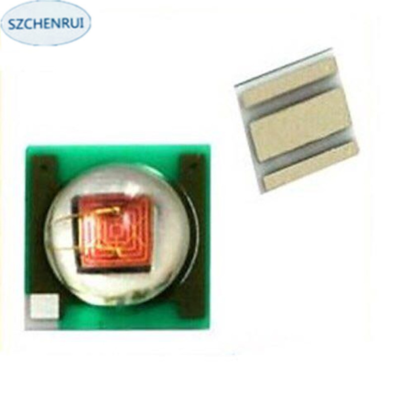 60pcs Imitation cree 3w 3535 smd LED red light 940NM IR 945nm 16mm 20mm board lighting