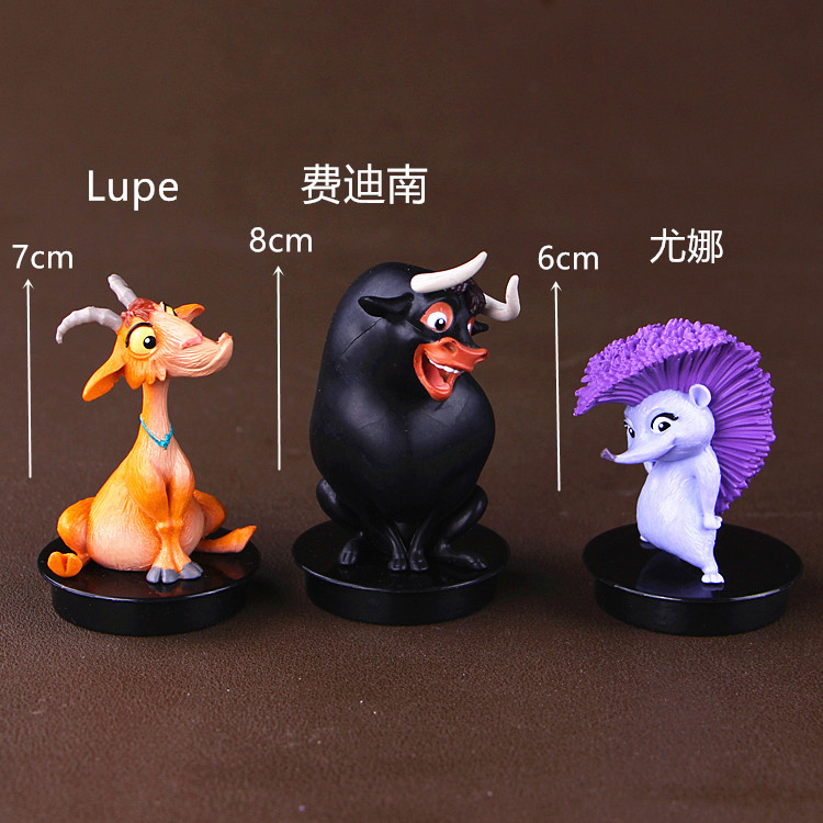 1pc Ferdinand Lupe Figurines Toy Doll Brinquedos Figurals Collection Model Gift