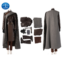 цена на Game of Thrones Costume Melisandre  Arya Stark Costume Cosplay Adult Halloween  Christmas Faux Leather Women  Sets