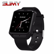 "Slimy SH05 4G montre intelligente téléphone avec Android 6.0 WCDMA WiFi Bluetooth Smartwatch GPS 1.54 ""affichage MTK6737 1G + 8G en Stock(China)"