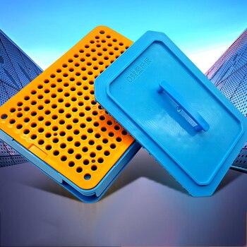 200 Holes 0# Plastic Professional Manual Capsule Filling Machine Capsule Powder Drug Filling Board Food Grade 1