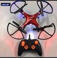 LEO RC novo 6-aixs L003 2.4 Ghz 4CH giroscópio rc quadcopter zangão rc com luzes LED