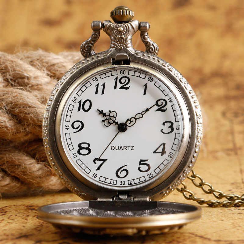 Serin SLYTHERIN 3D Retro bronz cep saati tasarımcı yılan kuvars Fob saatler erkek kadın Casual saat çocuklar için hediye