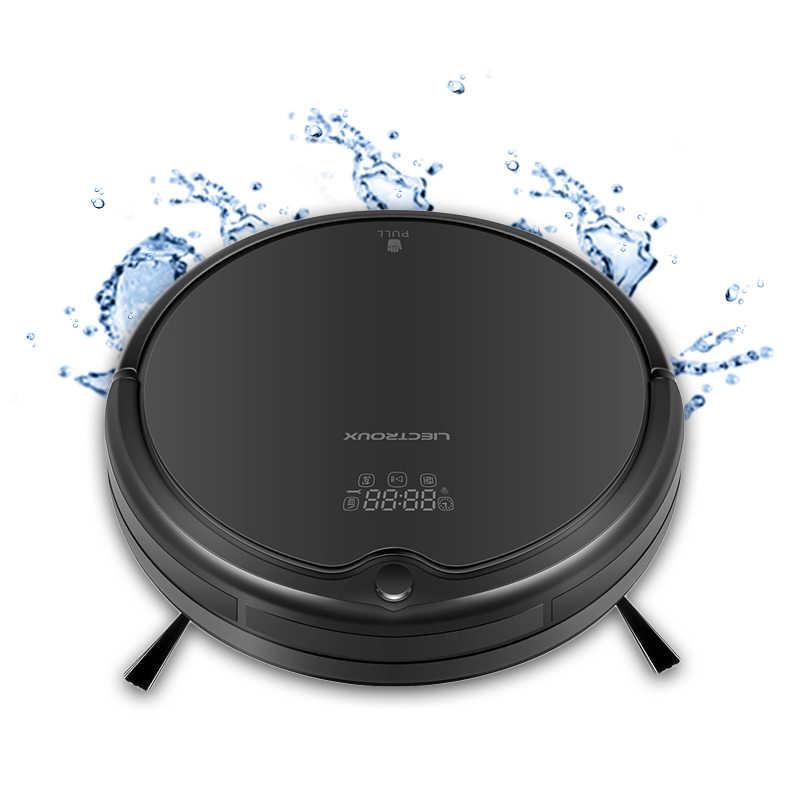 LIECTROUX Q7000 робот пылесос влажная уборка, мытья полов, новый помощник дома,сухая мокрая уборки,мощная уборка для пэт волос ,анти-столкновения, автоматически возвращаться на зарядки ,,низкое повторение