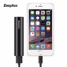 Easyacc Портативный Зарядное устройство для iPhone 7 6 Samsung Xiaomi 3350 мАч Мощность Bank 18650 Внешний Батарея пакет Зарядное устройство
