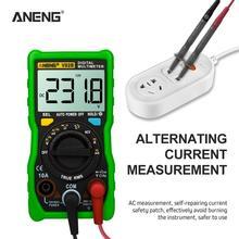 ANENG V02B analog digital multimeter esr meter transistor tester multimetro auto peak power off car multi