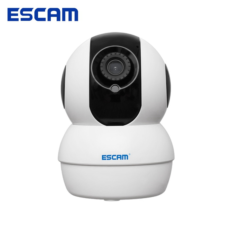 ESCAM G50 720P 1.0MP WiFi Camera Camcorder IR Pan/Tilt Camera with Two Way Audio Night Vision Support 64G TF Card Multiplatform wireless wifi ip cctv camera 960p ptz remote control pan tilt two way audio motion detection ir night vision tf card storage