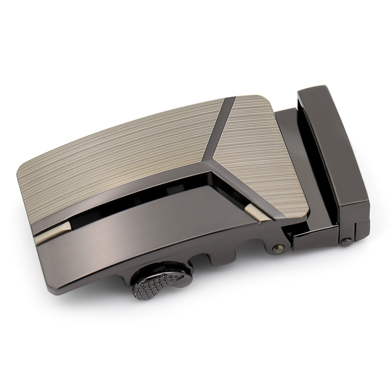 Genuine Men's Belt Head, Belt Buckle, Leisure Belt Head Business Accessories Automatic Buckle Width 3.5CM Luxury Fashion QD1324