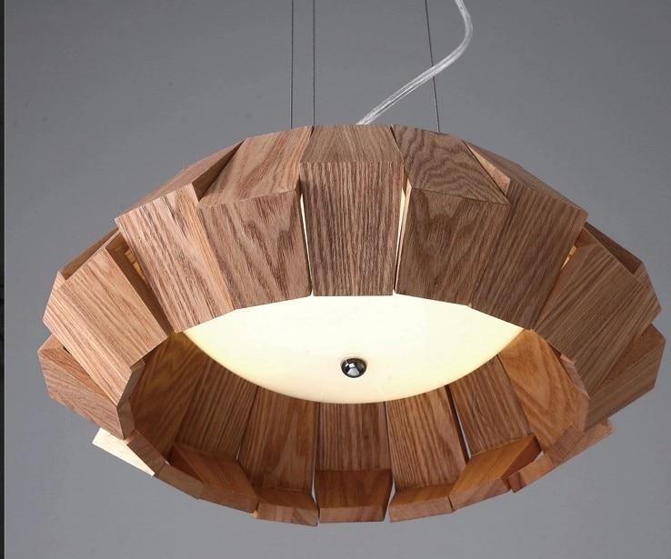 Lampen Ikea Plafond : Ikea scandinavische minimalistische houten kroonluchter creatieve