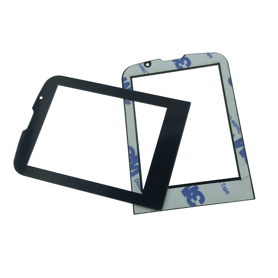 2pcs In Stock NEW For <font><b>PHILIPS</b></font> <font><b>E560</b></font> lens Not Glass Touch Screen With 3M 9448A double faced Adhesive sticky Tape image
