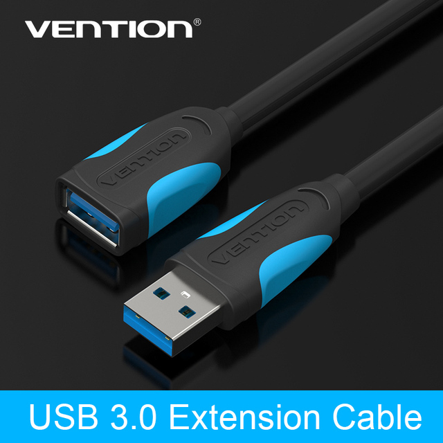 Vention High Speed USB3.0 Extension Cable USB 3.0 Male to Female Extension Data Sync Cord Cable Adapter