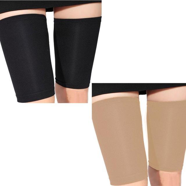 Neue Mode Dünne Oberschenkel Bein Shaper Fett Verbrennen Socken Compression  Stovepipe Bein Abnehmen f6ff8bb930