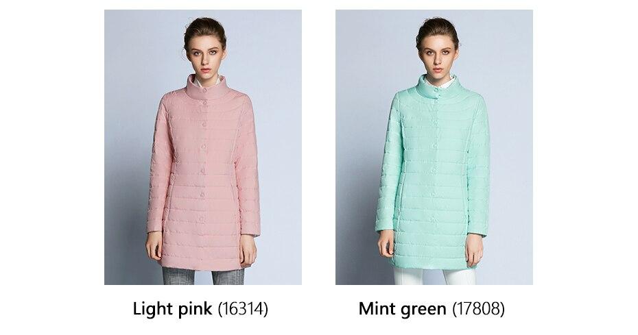 ICEbear 2019 Einreiher Seite Taschen Mit Geschlossen Zipper Frühling Jacke Frauen Mantel Baumwolle Gepolstert Schlanke Jacke Mantel 17G298D