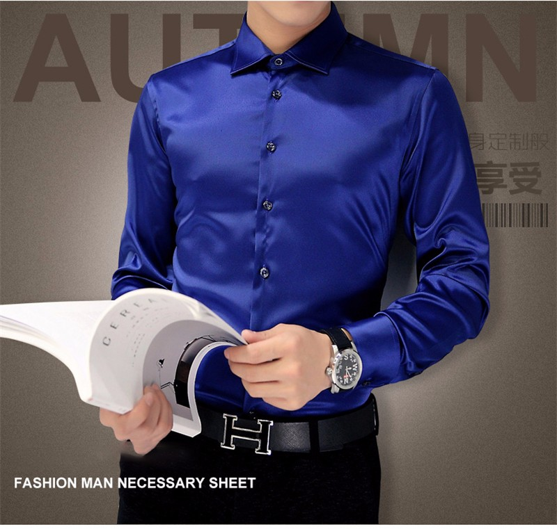 HTB1CC8iNpXXXXbXXFXXq6xXFXXXn - Plus Size 5XL New Men's Luxury Shirts Wedding Dress Long Sleeve Shirt Silk Tuxedo Shirt Men Mercerized Cotton Shirt