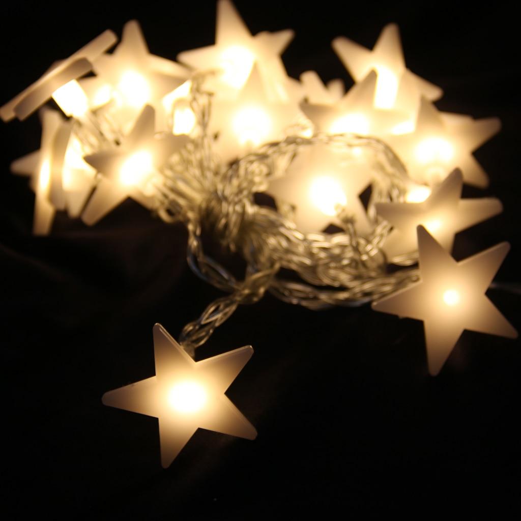 Fairy Lights Wedding Reception Ideas: New Hot 20 LED 78inch Battery Operated Diwali Star