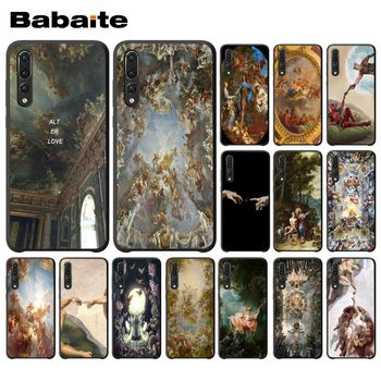 Babaite palace of versailles The Creation of Adam Art Phone Case for Huawei P9 P10 Plus Mate9 Mate10 Lite P20 Pro Honor10 View10 image