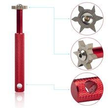 6 blade cutters tacos de Golfe apontador groove wedge cleaner reesculturado ferramenta acessórios de Golfe free shipping