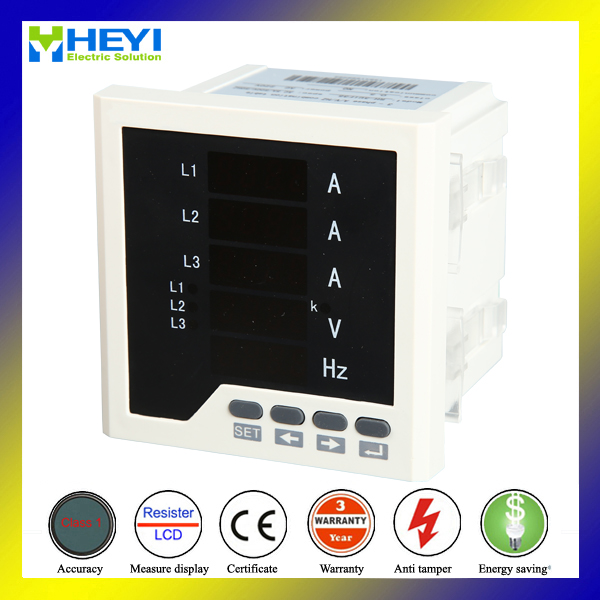 US $53 9 |RH 3UIF33 ac 3 phase current voltage frequency meter combined  digital panel meter -in Current Meters from Tools on Aliexpress com |  Alibaba