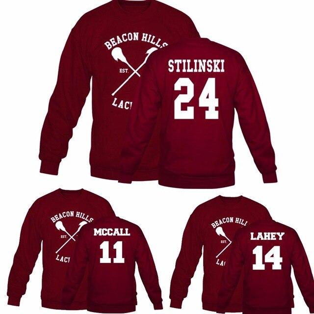 Beacon Hills Lacrosse Logo Wolf Sweatshirts Teen Wolf Stiles Stilinski 14  24 11 Hoodies For Women Men Euro Size S-XXXL 464a1314c