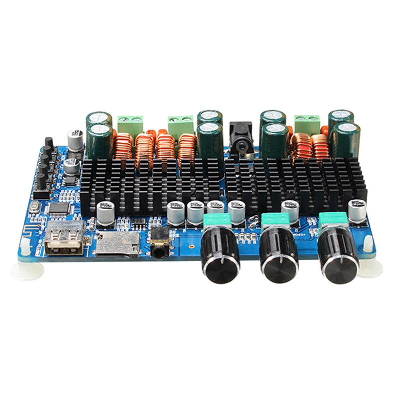 Hot Sale Wireless Bluetooth Digital 2.1 Channel Amplifier Board 50W+50W Stereo Output 100W Bass Output For RC Parts 8 channel digital responder parts
