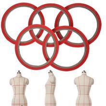 Широкий 3 мм цветной Fineline маскирующая лента васи лента односторонняя клейкая лента для дизайна ногтей или создания узора драпировочная лента 20 метров/рулон