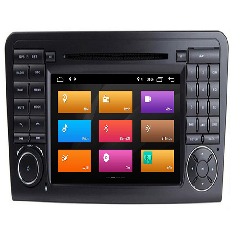 Android 9.0 Octa CoreMercedes for Benz <font><b>ML</b></font> <font><b>W164</b></font> ML300 GL X164 GL320 <font><b>350</b></font> 420 450 500 R W251 280 Car Multimedia Player DVD Player image
