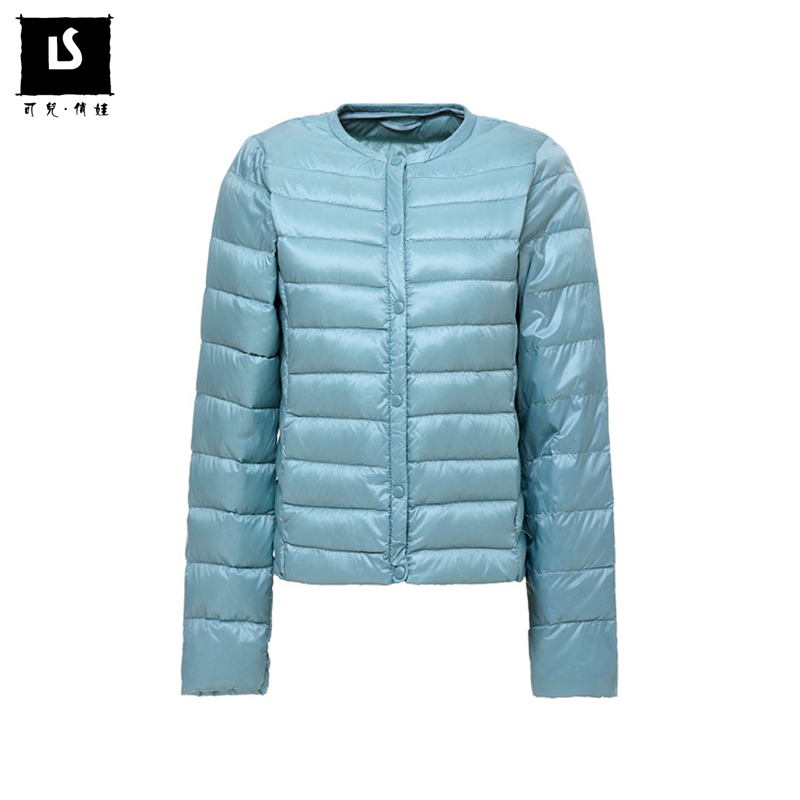 Women ultra light Short   down   jacket hooded winter duck   down     coats   women Warm Inner wear Lightweight parka Soft Women Clothing