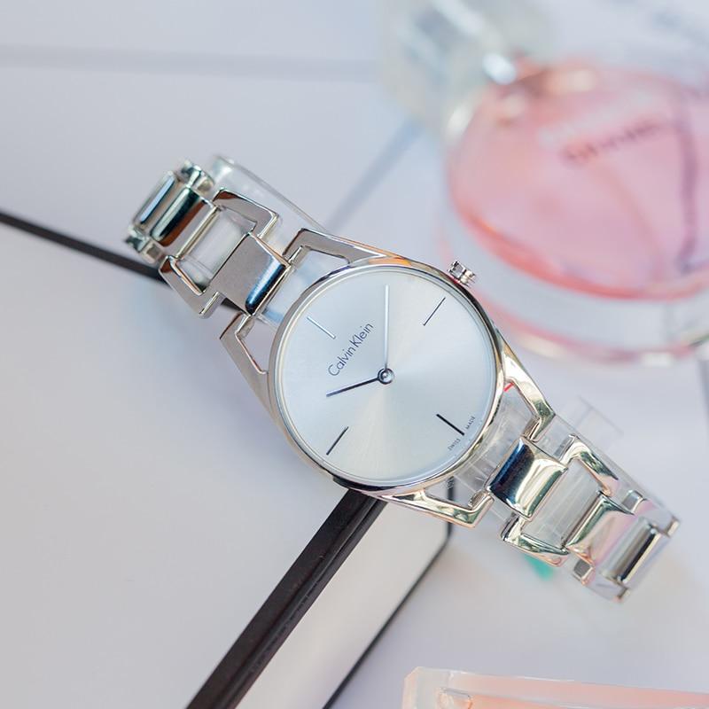 CalvinKlein montre quartz femmes qatch montres femmes mode montre 2018 K7L23146