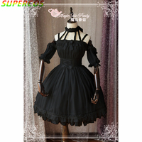 New Arrivals! High Quality! Classic Elegant Ballet Style Lolita 2way Dress
