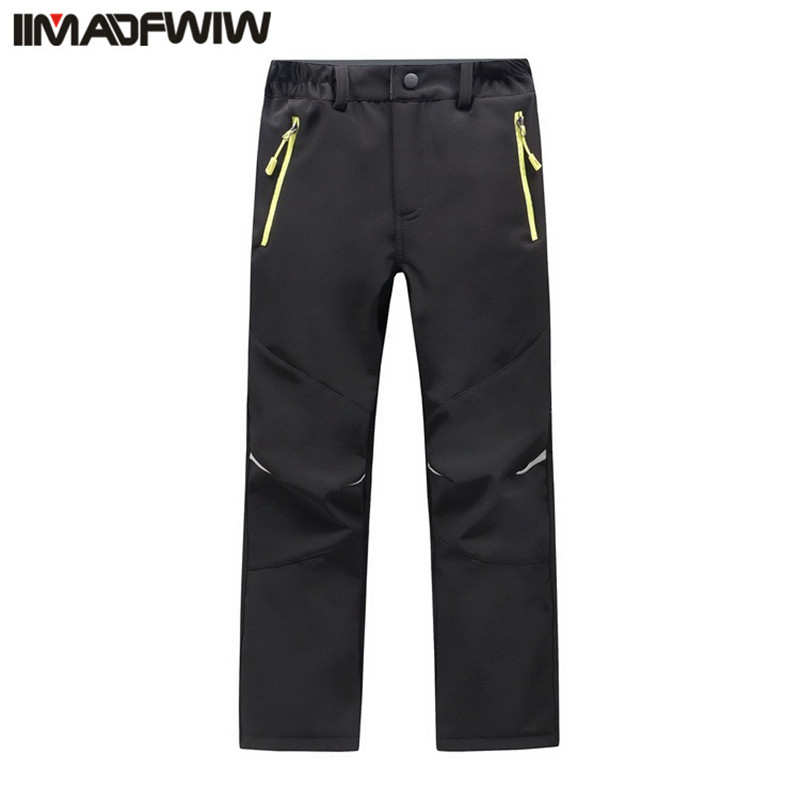 2017 Autumn Winter Children Patchwork Casual Zipper Pants Fleece Keep Warm Trousers Winter Kids Boys Girls Wearable Sport Pants c4520 brand autumn winter children patchwork keep warm trousers kids boys girls windproof waterproof sport children pants