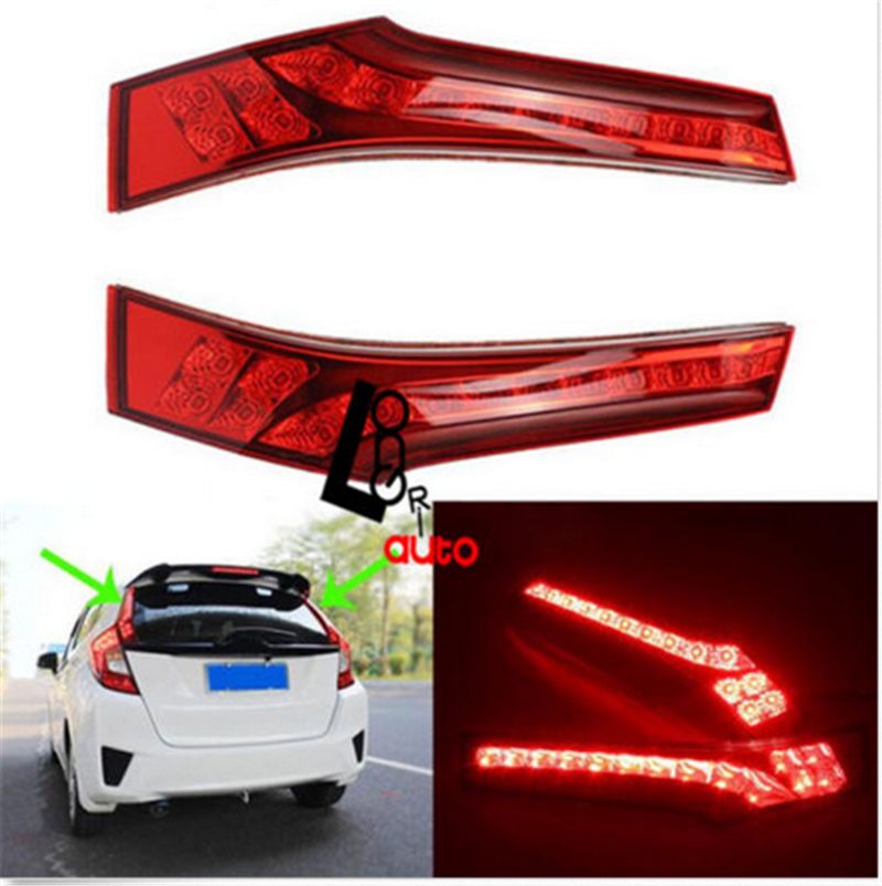 car styling LED rear light for Jazz FIT 2014-NEW tail light