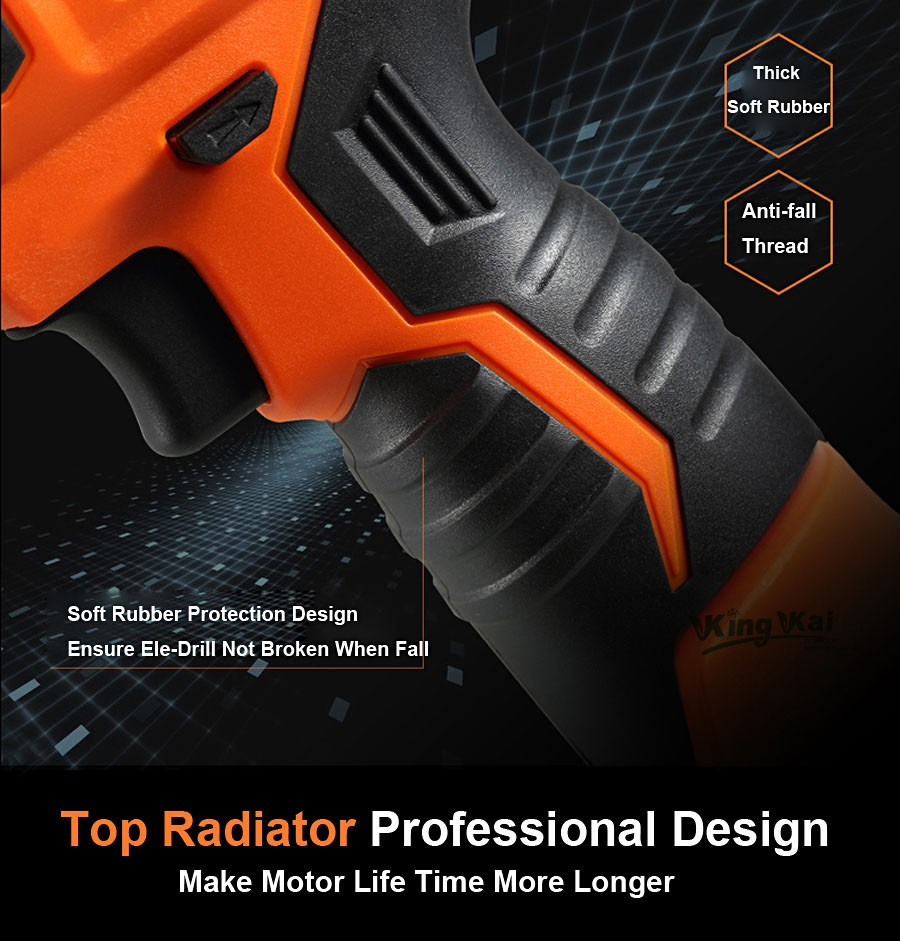 Cordless Lithium Battery Electric Drill-27
