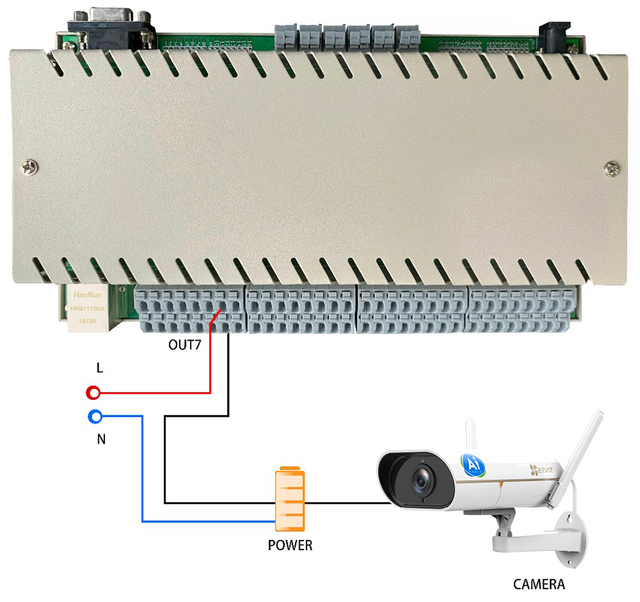 Wifi smart home automation controller module