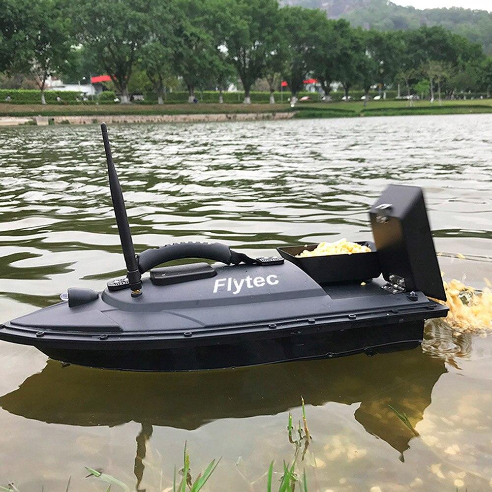 2019 nowy lokalizator ryb ryby łodzie wiosłowe 1.5 kg ładowania 500 m pilot zdalnego sterowania połowów łódź z przynętą RC łódź statek łodzią motorową spadek wysyłka w Figurki i miniatury od Dom i ogród na  Grupa 1