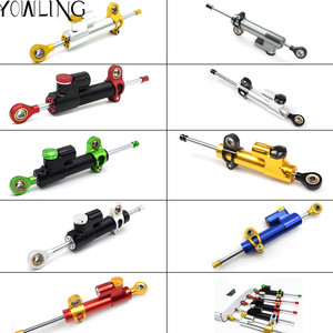 Motorcycle steering damper stabilizer linear reversed safety control for Kawasaki ZRX1200R-N-S ZX6R ZX6R VERSYS 1000 ZRX 1100
