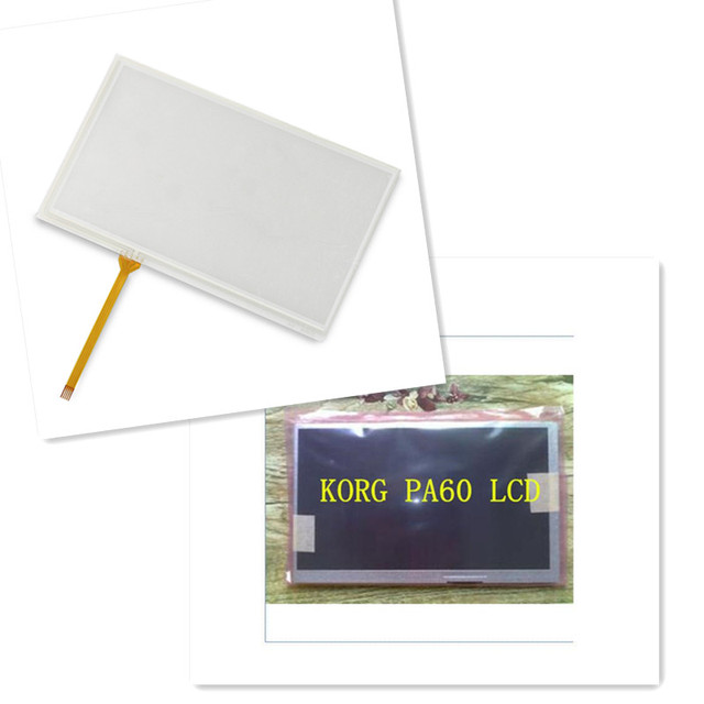 New for KORG PA600 PA-600 Touch Screen Panel + LCD Display Module Free Tracking Number