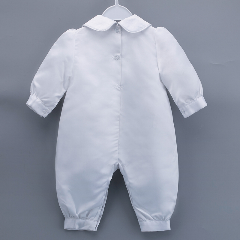 2ba55cc69a06 Buy Gooulfi Baptism Outfits Cotton Baptism Dress Full Sleeves ...
