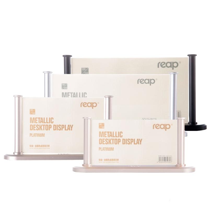 Precise 20pcs A5 Vertical Acrylic Magnetic Label Holder Stand L Black Sign Card Poster Menu List Frame Advertising Rack Desktop Desk Set Desk Accessories & Organizer