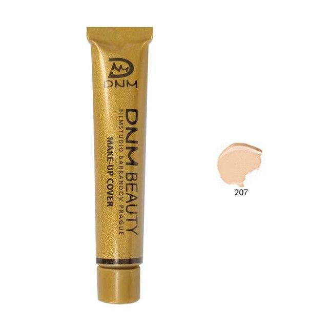 DNM impermeable duradero corrector líquido Base maquillaje profesional cubierta completa mate maquillaje crema belleza