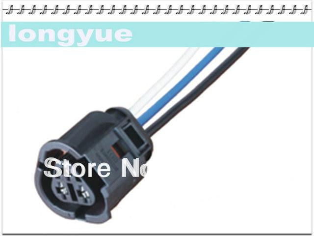 longyue 10pcs 3 way Radiator Coolant Temp Sensor Wiring Plug VW ...