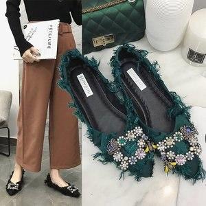 QIUBOSS Women Flat Loafer shoe