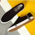 Spring And Autumn High Quality Denim Canvas Men Shoes Fashion Breathable Canvas Casual Shoes Men's Walking Shoes SMYDC-E0019