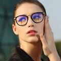 Novo Design Das Mulheres Armações de Óculos Retro Rodada Vidros do Olho